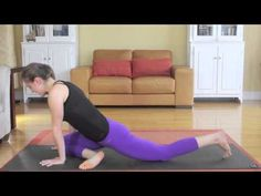 ▶ Learning Yoga Splits - Day 16 - 30 Day Yoga Challenge - YouTube