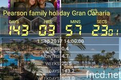 Two hols this year..fabulous..Gran Canaria.xx