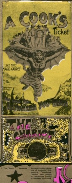Martin Sharp's psychedelic tarot cards from 1967- If you love Tarot, visit me at www.WhiteRabbitTarot.com