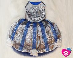 Hanukkah Holiday Couture Glamour Dog Dress by OrostaniCouture, $199.00