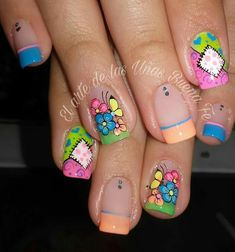 Luv Nails, Solar Nails, Gel Nail Designs, Triangles, Acrylic Nails, Decoupage, Manicure, Beauty, Ideas