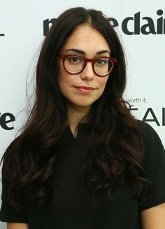 Audrey Gelman looked oh-so-sweet with her cascading curls at the Marie Claire Power Women Lunch.