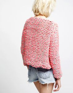 Thick knitted sweater from Wool and the Gang