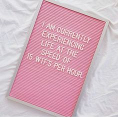 Today I am sharing with you some seriously feel-good and funny letterboard quotes that perfectly speak to those of us who are quarantined inside. Words Quotes, Me Quotes, Funny Quotes, Sayings, Pink Quotes, Trust Quotes, Felt Letter Board, Felt Letters, Word Board