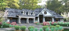 ePlans French Country House Plan – Fanciful French Country – 2495 Square Feet and 3 Bedrooms from ePlans – House Plan Code HWEPL76616