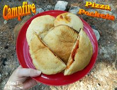 Campfire Pizza Pockets...can be prepared ahead & perfect for camping!!