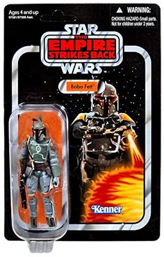 Star Wars 375 Vintage Figure Boba Fett >>> To view further for this item, visit the image link.Note:It is affiliate link to Amazon.