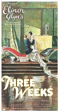 Three Weeks (1924) Stars: Aileen Pringle, Conrad Nagel, John St. Polis, William Haines ~Director: Alan Crosland
