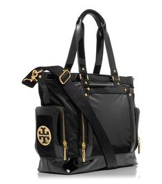 Tory Burch Baby Bag. I better get this as a push present from my husband when the time comes.