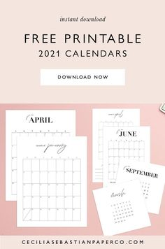 *To access the calendars follow the link the blog post to the freebies page and click the pdf icons to download all of the calendars. Freebie Calendar 2021! Now you can organize, plan and streamline your life! Super easy to print at home and available in 3 sizes to fit all of your needs! @cecilia.sebastianpaperco | ceciliasebastianpaperco.com | Freebie Calendar 2021 | Freebie Calendar | Free Printable Calendar | Feminine Minimalist Calendar | Neutral Blush Calendar Diy Wedding Stationery, Wedding Menu Cards, Printable Wedding Invitations, Wedding Table, Diy Wedding Bouquet, Diy Wedding Favors, Diy Wedding Decorations, Free Printable Calendar, Printable Cards