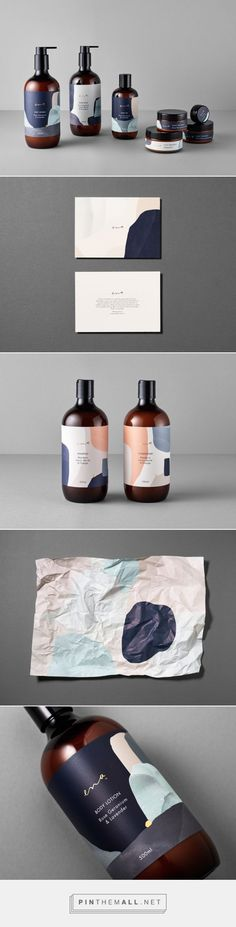Ena Skin Care Branding and Packaging by Ortolan Fivestar Branding Agency – Design and Branding Agency & Curated Inspiration Gallery Graphisches Design, Logo Design, Brand Identity Design, Graphic Design Branding, Label Design, Design Agency, Layout Design, Package Design, Graphic Design Company