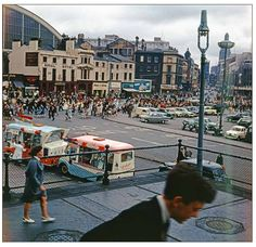 Lime Street in 1965 Liverpool Town, Liverpool Docks, Liverpool History, Liverpool England, Orange Order, New Saints, Southport, Great Britain, Great Places