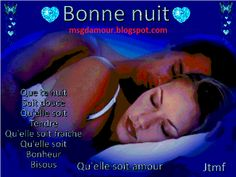 Sms bonne nuit mon amour, je vous souhaite une douce nuit en toute douceur sans des ennuis avec SMS de Bonne Nuit.