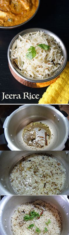 Jeera rice is an easy to make and extremely flavorful Indian rice recipe. It goes very well with any spicy gravy you can think of.