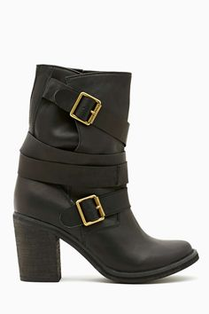 Jeffrey Campbell France Strapped Boot | Shop Shoes at Nasty Gal