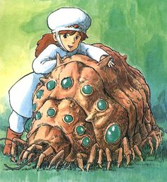 Princess Nausicaa grew up to love all creatures human or not as she was driven by heart and compassion making her a brilliant character to root for..