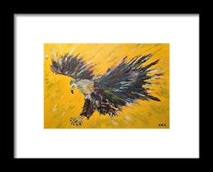 African Fish Eagle Framed Print by Kelly Goss Wall Art For Sale, Wild Dogs, Bird Art, Special Gifts, Decorating Your Home, Spice, Wildlife, Elephant, Eagle