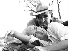 MM de Cornell Capa.Marilyn y Clark