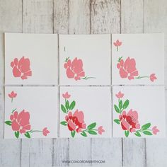 Clean and Simple Multi Occasion Card Set - Paper Crafts by Laurel