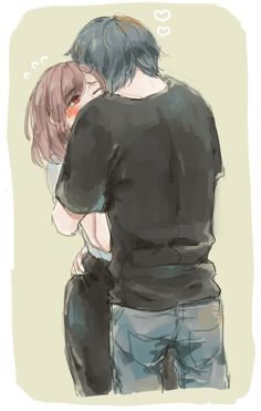Hinami and Ayato // TG:re