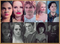 Riverdale: Veronica, Cheryl, Archie, Betty and Jughead Kj Apa Riverdale, Riverdale Quotes, Riverdale Archie, Riverdale Aesthetic, Riverdale Funny, Riverdale Veronica, Riverdale Poster, Riverdale Cheryl, Archie Comics