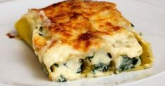 A classic recipe that we always find full of flavour and very satisfying. A good veggie dish for a cold night. Spinach & ricotta cannelloni – serves 4 butter, plus a bit extra sp… Cookbook Recipes, Kitchen Recipes, Wine Recipes, Cooking Recipes, Healthy Recipes, Cheese Recipes, Savoury Recipes, Pasta Recipes, Healthy Food