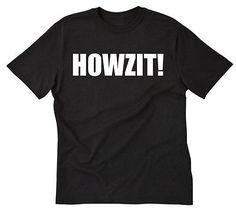 Howzit! T-shirt Hawaii Hawaiian Pidgin Tee Shirt