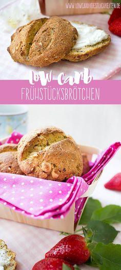 Low Carb Frühstücksbrötchen mit Chia Samen und Haselnüssen / Low Carb Rolls with chia seeds and hasenut