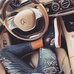 Louboutin X Mercedes S Class  #mercedes #s65 #punintendedmag #BigDawg314 #2muchsauce #fashion #Designer