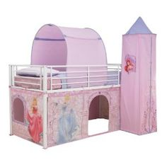 Your little one will love our kids' room ideas featuring favourite brands like Disney Princess & Batman. Shop kids' bedding, furniture & more at Toys R Us. Kids Bed Tent, Kids Tents, Disney Princess Bedding, Princess Room, Kids Bedroom Sets, Kids Room, Mid Sleeper Bed, Barbie Doll Set, Unicorn Room Decor
