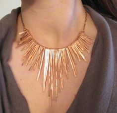 copper Athena necklace, Charming statement necklaces http://www.justtrendygirls.com/charming-statement-necklaces/