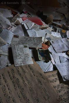 If Walls Could Whisper PhotographyAtticin Abandoned Asylum - Belgium