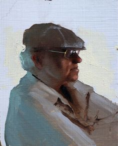 Daniel Sprick has to be the most talented painter working today. His website is full of masterpieces, but friending him on fb gives you access to these gestural gems. I bet he did this in an hour. Jerk.