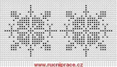 Snowflakes, Knitting patterns free, knitting charts and motifs - www.knitting-patterns-free.rucniprace.cz