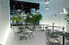 Studio Ilse, Wastberg, Eikelenboom Wire Chair Outdoor Vitra IMM 2014
