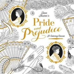 Fall in love all over again with Jane Austen's Pride and Prejudice in this wonderful coloring book featuring beautifully intricate patterns and details, classic quotations, and iconic scenes to color