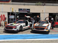Cars in Paul Ricard
