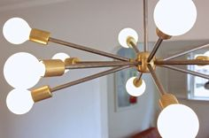 Sputnik retro lamp - Aydınlatma 201950 | zet.com