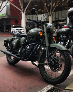 Enfield Classic, Royal Enfield, Army, Bike, Green, Dan, Motorcycle, Gi Joe, Bicycle