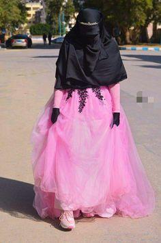 Beautiful Hijab, Beautiful Bride, Sequin Bodysuit, Niqab, Muslim Fashion, Indian Dresses, Brides, Marriage, Tulle