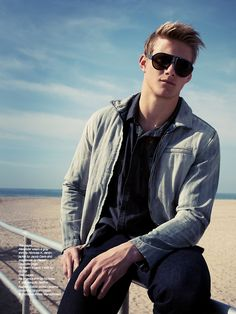 The Untitled Magazine Alexander Ludwig  Photography by Indira Cesarine