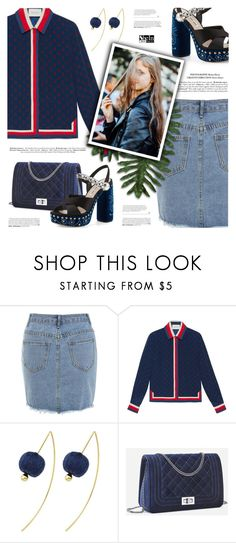 """SheIn"" by defivirda ❤ liked on Polyvore featuring Gucci and Miu Miu"