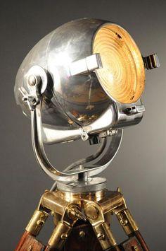 Strand  London vintage studio spotlight lamp lighting old – We collect similar ones – Only/Once – www.onlyonceshop.com