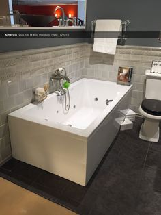 Americh  Vivo Tub@ Best Plumbing (WA) - 6/2016