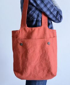 Anleitung: Einkaufstasche KURT mit Außentasche