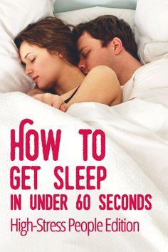 How to Get Sleep in Under 60 Seconds: The High-Stress People Edition | Sprayable Sleep: Sleep you Spray on your Skin
