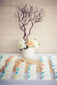 Wedding Chic…  Peach and Teal Multicultural Wedding