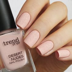 Nailpolis Museum of Nail Art | Trend It Up Desert Nudes 010 Swatch by nagelfuchs