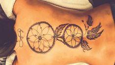 Indian Dreamcatcher Tattoos