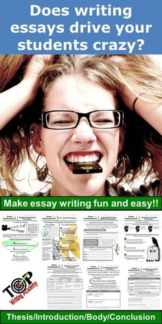This essay fundamentals unit uses easy to remember acronyms to guide students through the writing process.  Each lesson takes students through a guided writing process to instruct thesis development, introduction paragraphs, body paragraphs, and conclusion paragraphs.  18 bold and colorful posters are included to provide visuals to enhance instruction.